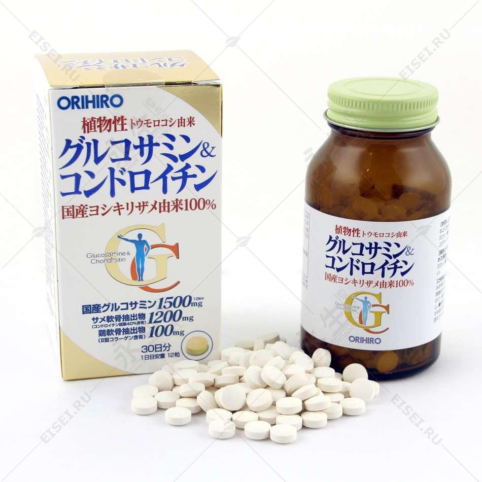 Глюкозамин + Хондроитин - Orihiro