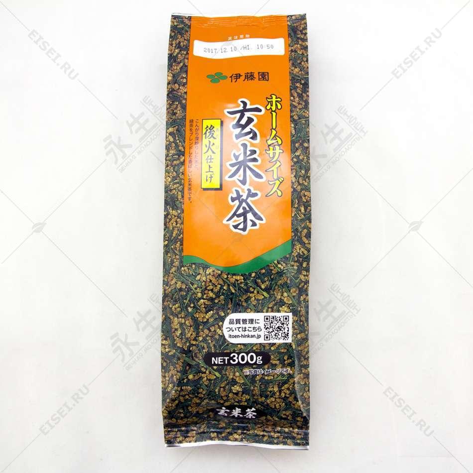 Зеленый чай с коричневым рисом - Itoen