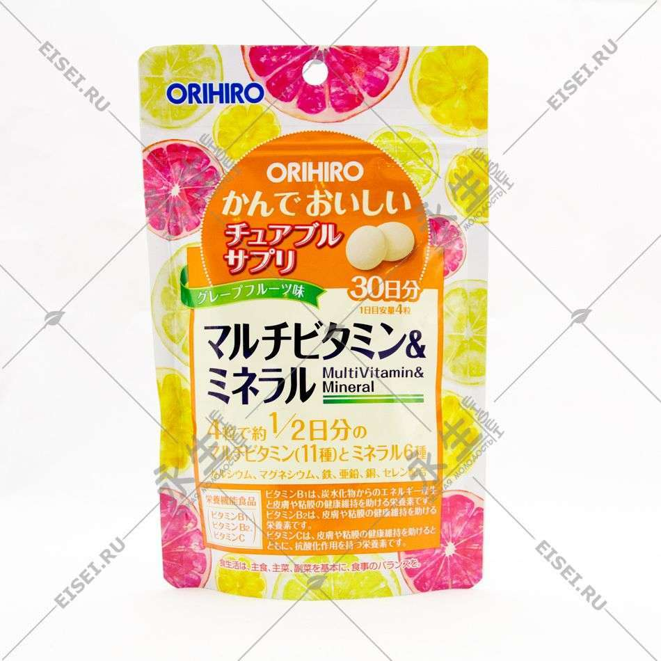 Мультивитамины и мультиминералы - Orihiro